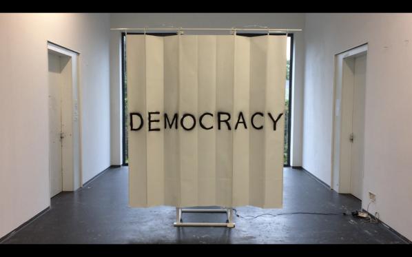 DemOCRacY, 'Mixed media installation', dimension variable, 2017-1