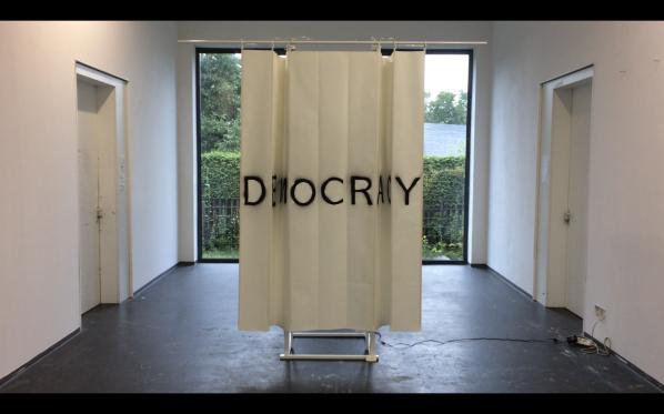 DemOCRacY, 'Mixed media installation', dimension variable, 2017-2