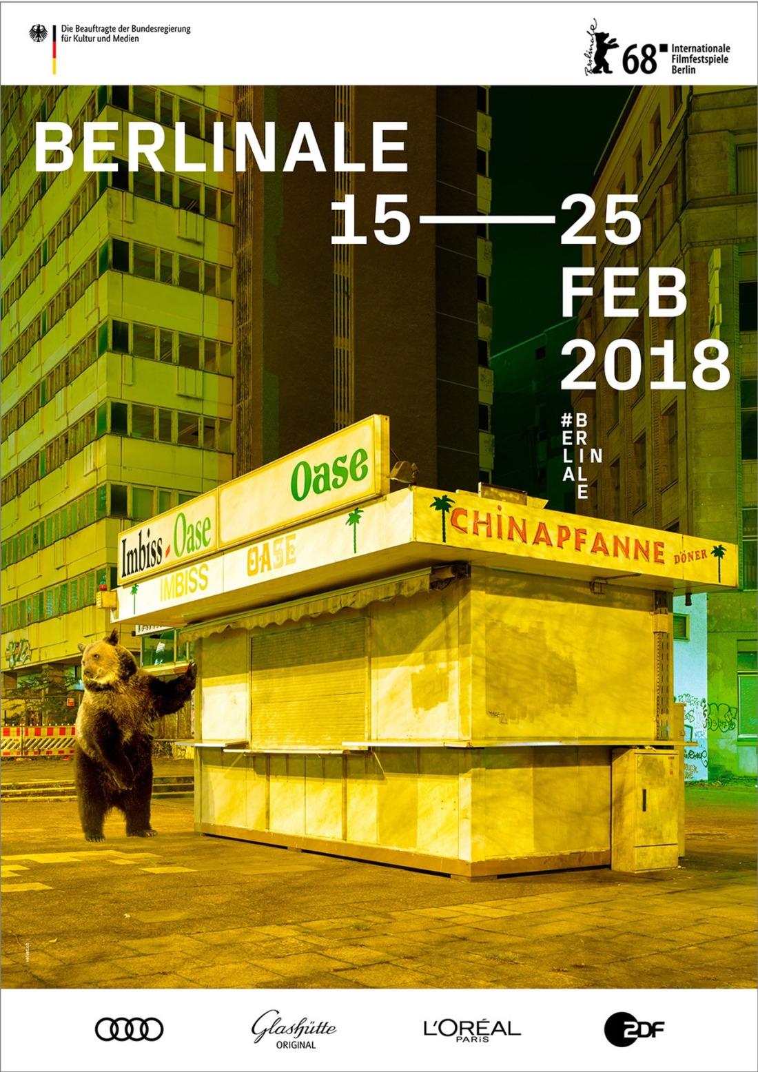 제 68회 베를린 국제 영화제 포스터 (사진:©Internationale Filmfestspiele Berlin / Velvet Creative Office)